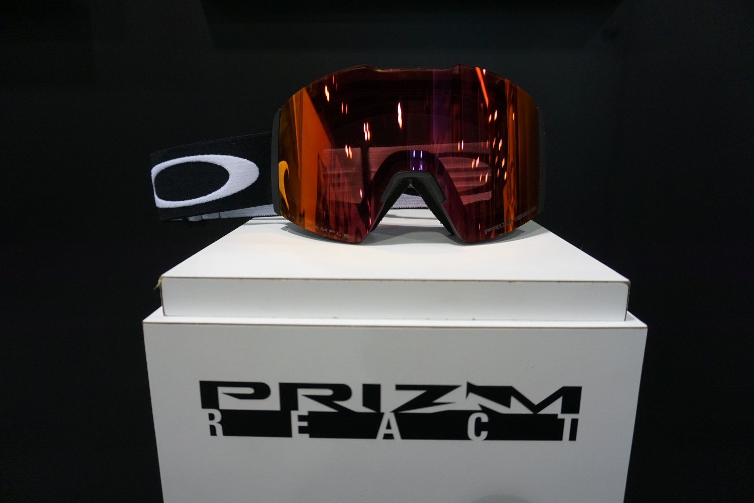d2993614710 The new Prizm React goggle will adjust to 3 different levels of lens tints  with the touch of a frame. Adjusting to any lighting condition on the fly this  is ...