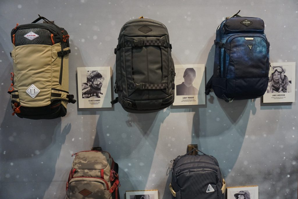 274f2a90d8d Dakine continues a tight team collection of pro-designed packs. Featured  here  Elias Elhardt